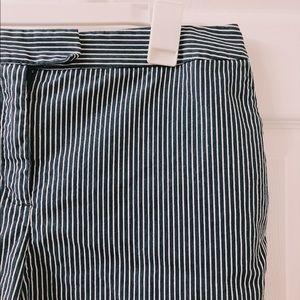 Jones New York Striped Stretch Shorts